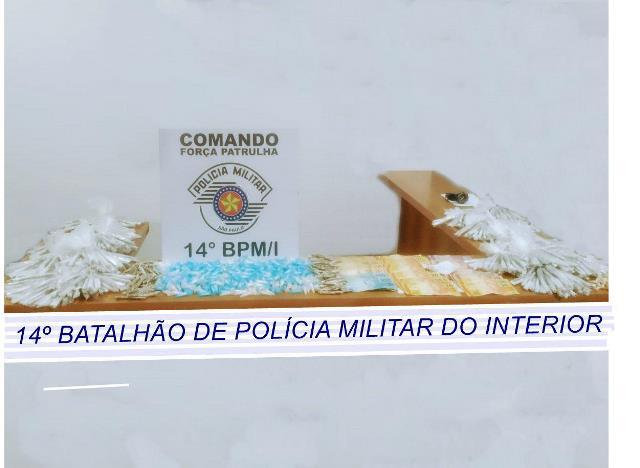 MAIS DE 2,5 KILOS DE DROGAS APREENDIDAS E UM HOMEM PRESO NESTA MADRUGADA NA VILA NOVA, EM REGISTRO-SP