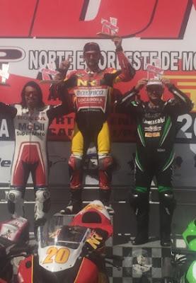 Paraibano de Nova Palmeira 'voa baixo' e vence primeira etapa do RDN de motovelocidade