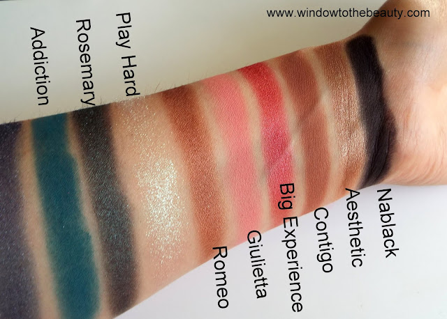nabla secret real swatches