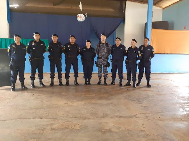 6º Batalhão de Polícia Militar em Guajará-Mirim realiza formatura em comemoração ao Dia do Soldado.