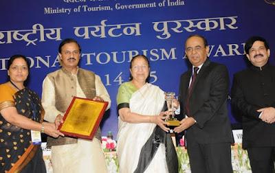 Jaipur, Sawai Madhopur, Railway Station, Kota Railway Division, Best Tourist Friendly Railway Station Award, Vigyan Bhawan, New Delhi, Union Tourism Ministry