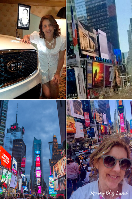 Kia Mommy Blog Expert Times Square New Years