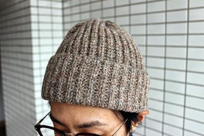 クレプスキュールのニット帽