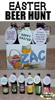 Easter Egg Beverage (Beer) Hunt for Adults