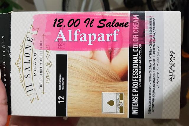 tinta de caixinha Il Salone Alfaparf