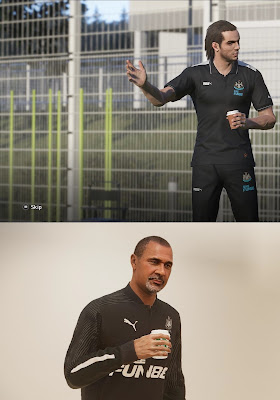 PES 2020 Newcastle United Polo Shirts & Track Suits by PESWilliam
