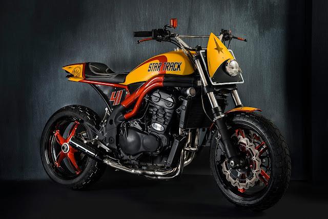 Triumph Speed Triple By Matteucci Garage Hell Kustom