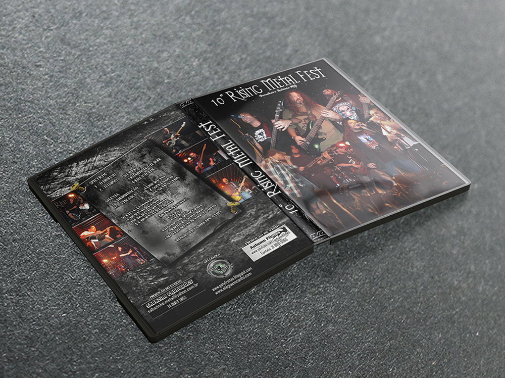 DVD Rising Metal Fest