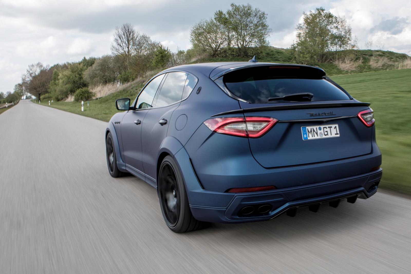 Novitec's Maserati Levante Esteso Is Wider Than A Hummer ...