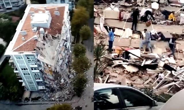 Turki Diguncang Gempa Magnitudo 6,6 Hingga Terjadi Sunami Kecil