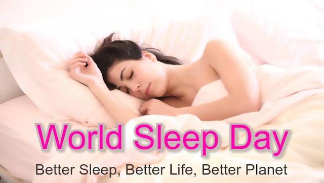 World Sleep Day - Festive talks