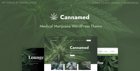 Cannabis & Marijuana WordPress Template