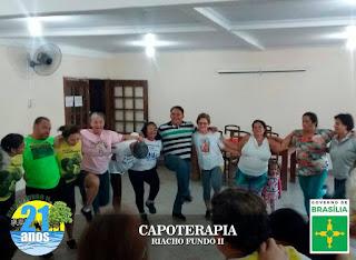 Projeto social usa capoeira para melhorar qualidade de vida