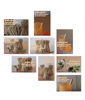 sedotan bambu