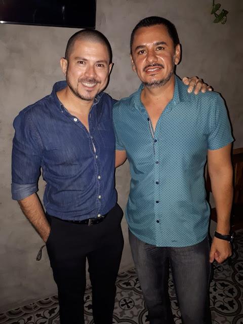Jorge Moreno y Julio Lizama.