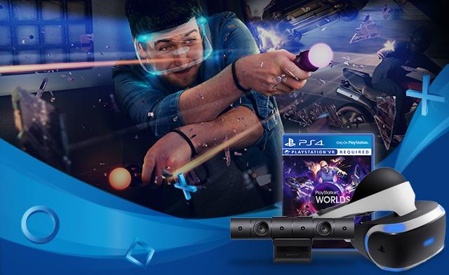PlayStation VR ahora con la cámara y el PS Worlds de regalo