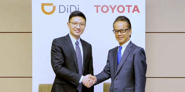 Toyota, Didi Chuxing, China, Ásia, Michell Hilton