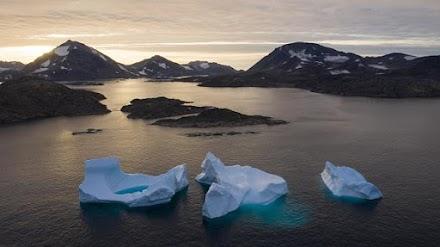 Δραματική μείωση των πάγων στην Αρκτική
