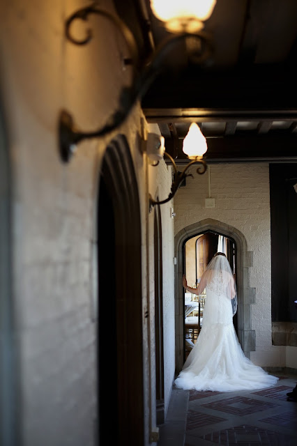 rollins mansion archway wedding pictures