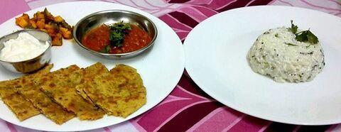 How-to-make-Cabbage-Paratha-Masala