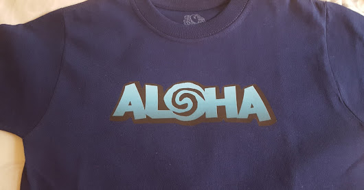 Now Available: Aloha Tee is Adult and Youth Sizes