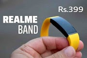 Realme Band Features With Color Display, Heart Rate Monitoring Rs- 399