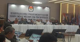 Diumumkan Dini Hari Tadi, KPU Tetapkan Jokowi-Ma'ruf Menang Pilpres 2019