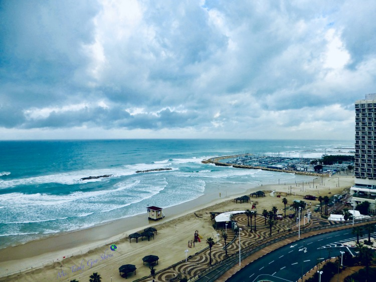 Tel Aviv, Israel, one of the world's beautiful beaches | Ms. Toody Goo Shoes