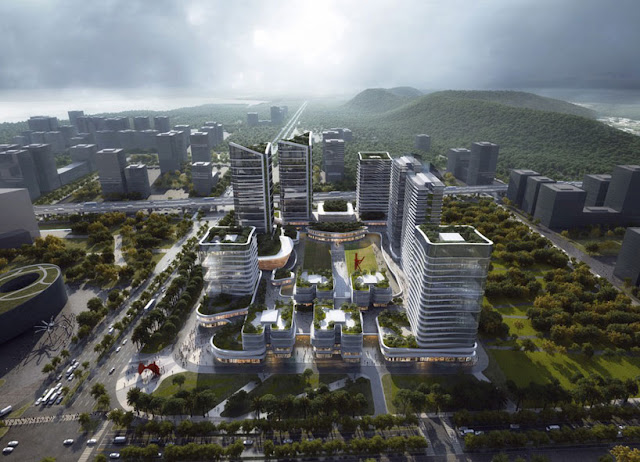 Aedas Architecture Firm Develop The Innovation Park in China, Aedas, Architecture Firm