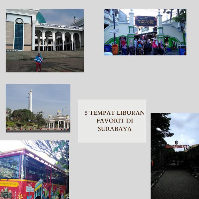 Tempat Liburan Favorit di Surabaya