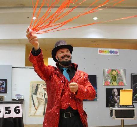 Professional Magician performing magic shows in Salt Lake City, Utah