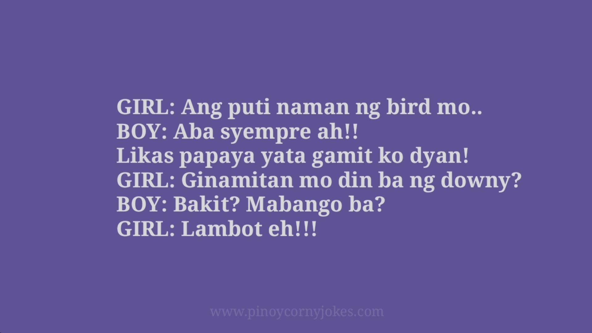 bird pinoy love jokes