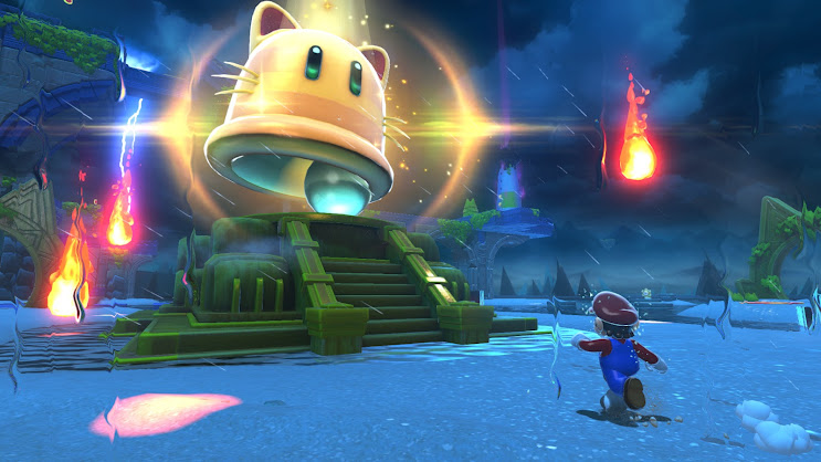 Super Mario 3D World + Bowser's Fury another gameplay snapshot