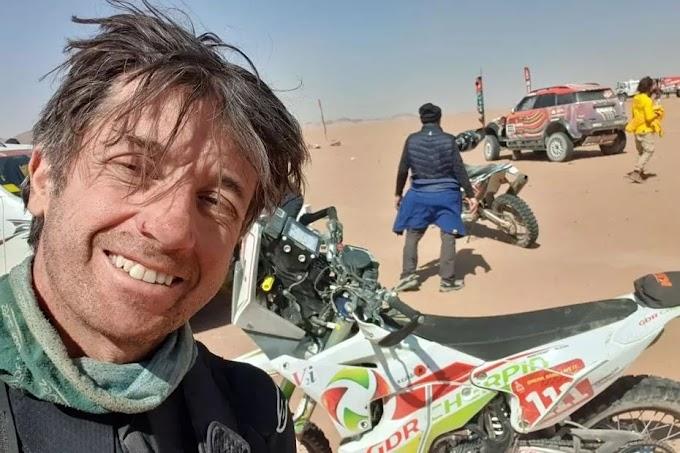 Falleció el motociclista Pierre Cherpin tras permanecer cinco días en coma.