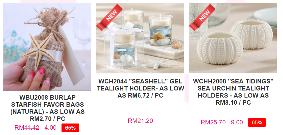 wedding favor malaysia price