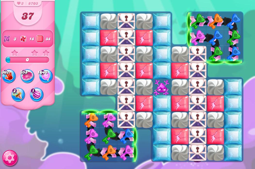 Candy Crush Saga level 8703