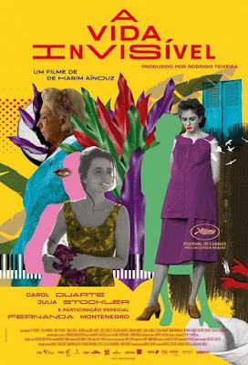 La vida invisible de Eurídice Gusmão - Poster pelicula