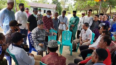 PT Sumber Sejahtera Logistik Prima (SSLP) Serahkan Surat Tanah   Kepada Warga Linau