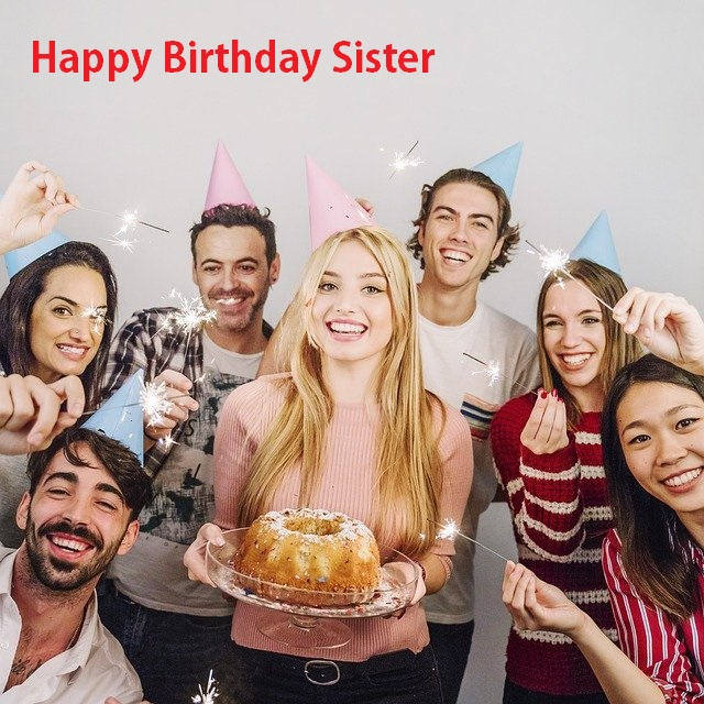 Stupendous Happy Birthday Images For Sister For Wish On Her Birthday Funny Birthday Cards Online Alyptdamsfinfo