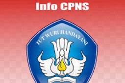 Pendaftaran Calon Pegawai Negeri Sipil (CPNS)