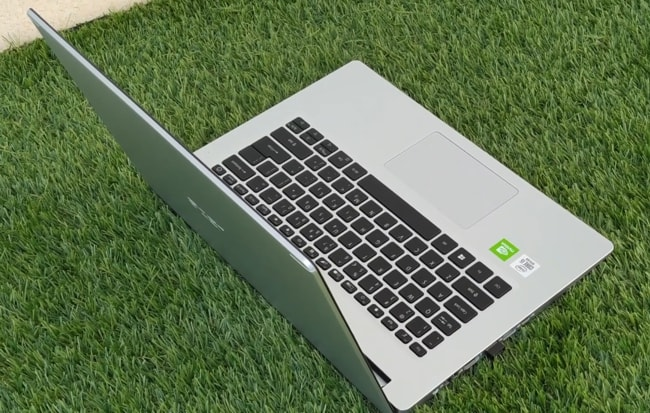 Acer Aspire 5 laptop comes with Intel Core i5 CPU and NVIDIA MX350 2GB GPU.