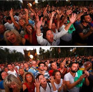 Cataluña ha sigut independén entre les 19:39:44 y les 19:39:52 del 10-10-2017