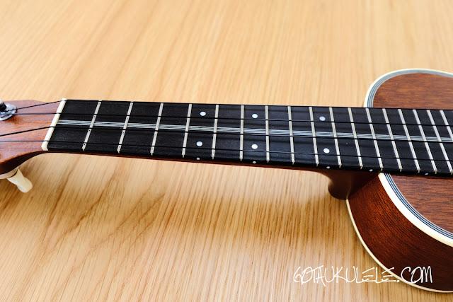 Kiwaya KTS-7 Soprano ukulele neck