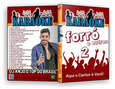 CAPA DVD – karaoke Forró E Outros Vol.2 – ISO