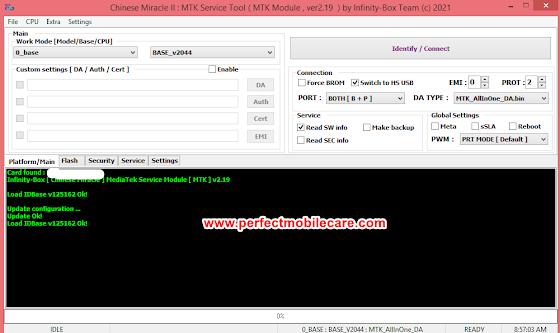 Infinity Chinese Miracle-2 MTK/MediaTek v2.19 - Standalone MTK auth ON - NEW CPU