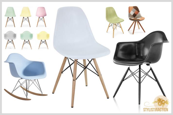 sillas de autor - cual es la indicada para cada casa - silla eiffel Charles Eames
