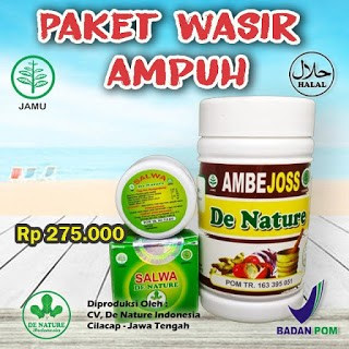Obat Wasir De Nature Paling Ampuh