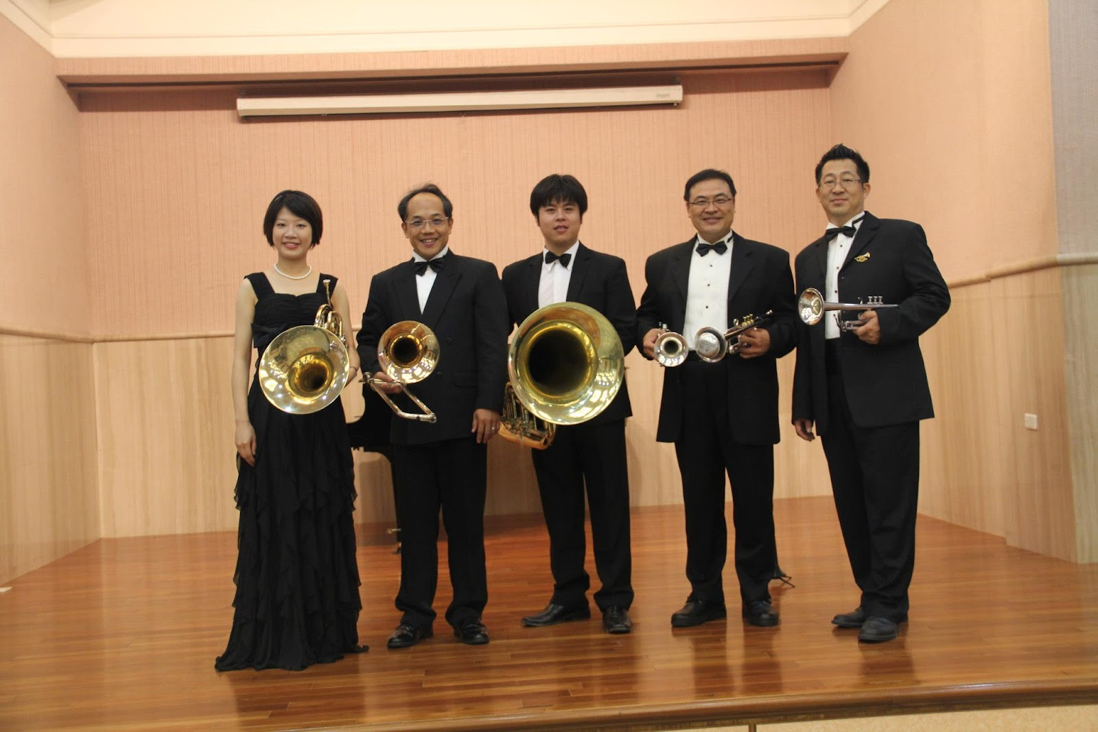 師輩秀銅管樂團Special Brass Quintet: 林建生圖書館演出101.09.02
