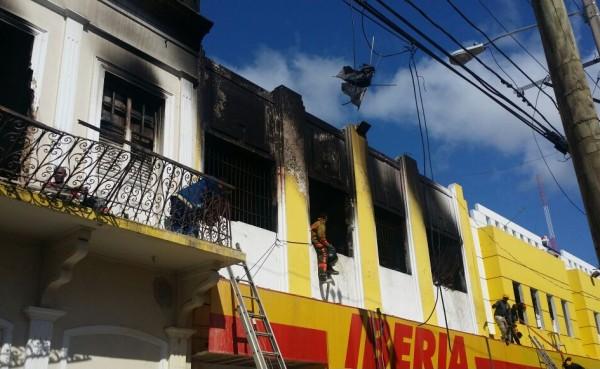 Fuego en Iberia dejó pérdidas RD$500 millones y más 350 personas sin trabajo