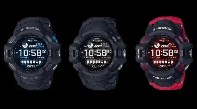 Casio launches its new Wear OS G-Shock Smartwatch